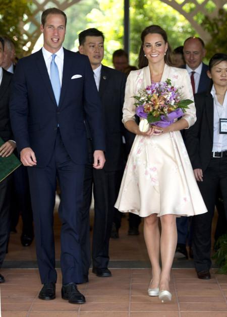 Lady Di Kate Middleton Jenny Packham