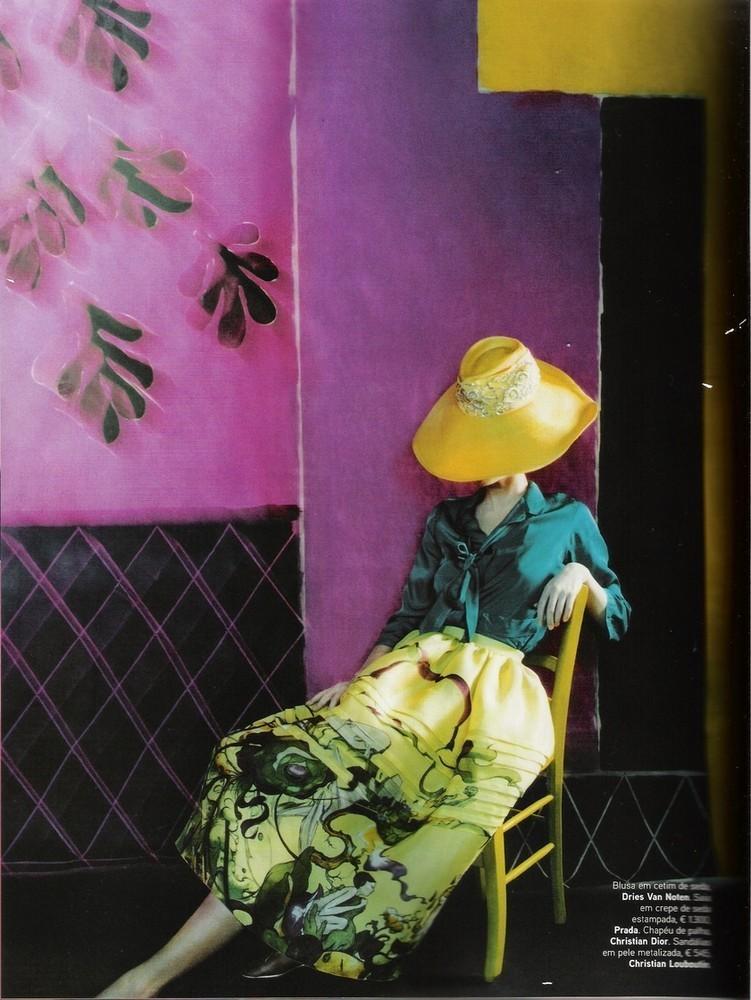 Foto de Prada y mil veces Prada: estilismos en las revistas (1/6)