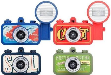 La Sardina, cámaras lomográficas inspiradas en las latas de conservas