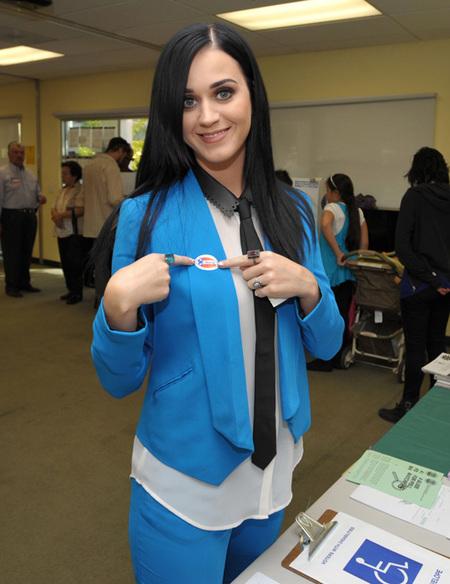 Katy Perry cambio de look
