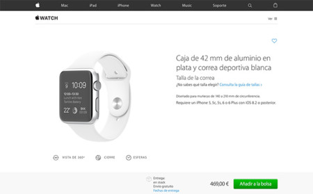 Tienda online Apple.com