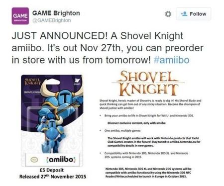 Shovel Knight Amiibo 2