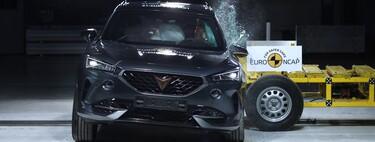 Euro NCAP arranca 2021 estrellando el CUPRA Formentor y el eléctrico Polestar 2, con cinco estrellas para ambos