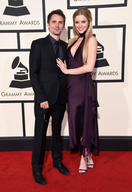 Matt Bellamy y Elle Evans