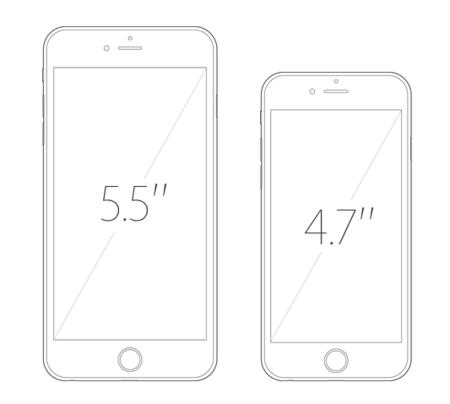 iphone 6 tamaños