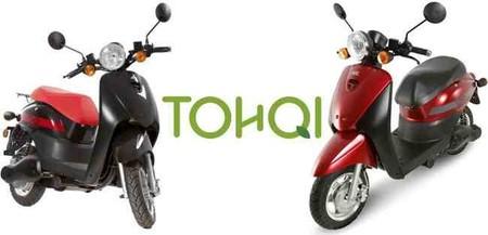 Tohqi ML, prueba del scooter eléctrico que llega de las Islas Canarias
