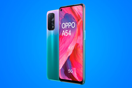 OPPO A54 5G: pantalla a 90 Hz, Snapdragon 480 y gran batería
