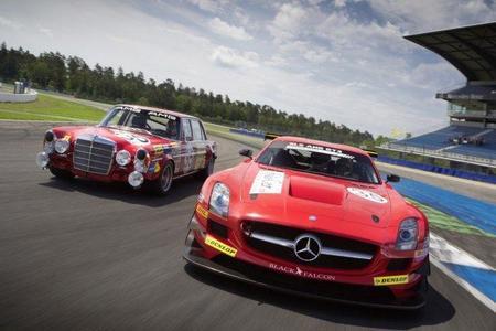 Mercedes-Benz homenajea al Mercedes 300 SEL 6.8 AMG