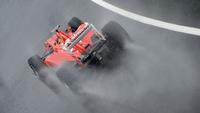 Fernando Alonso logra una pole pasada por agua en el Gran Premio de Gran Bretaña