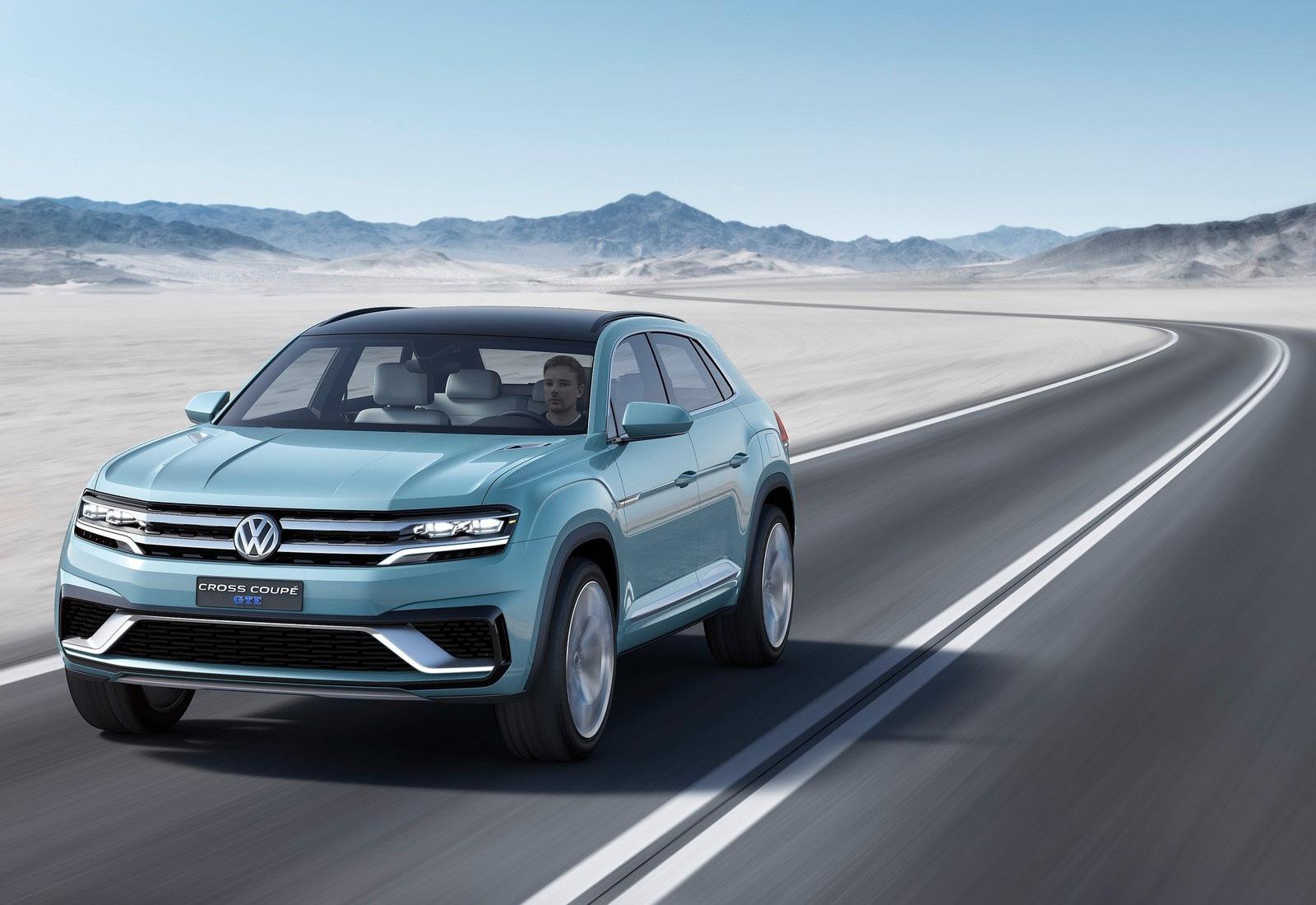 Foto de Volkswagen Cross Coupé GTE Concept (5/34)