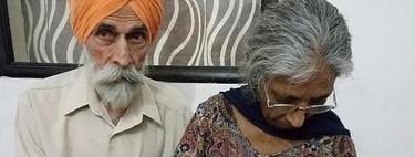 Una mujer india se convierte en madre primeriza a los 70 años