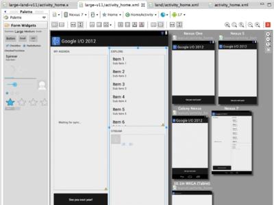 Android SDK Tools 21 incluye editor multiconfiguración, test para la interfaz de usuario y nuevas plantillas