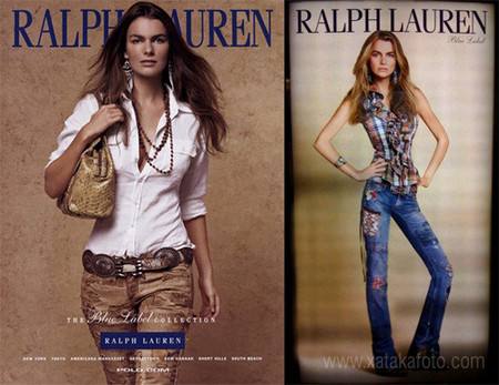 Ralph Lauren photoshop
