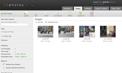 "72photos, ""nueva"" aplicación para crear álbumes de fotos"