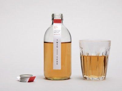 Cold Brew Tea de Twig y Studio Thomas: querrás un té con sólo mirarlo