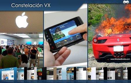 La primera Apple Store llega a BCN, el fracaso de BlackBerry y el pupas de la carretera, el Ferrari 458 Italia. Constelación VX (XIX)