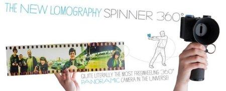Spinner 360º, cámara lomográfica para realizar panorámicas