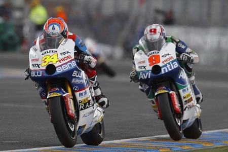 Tito Rabat en el GP de Francia acción