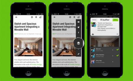 Buffer celebra sus 500.000 usuarios aliándose con Feedly