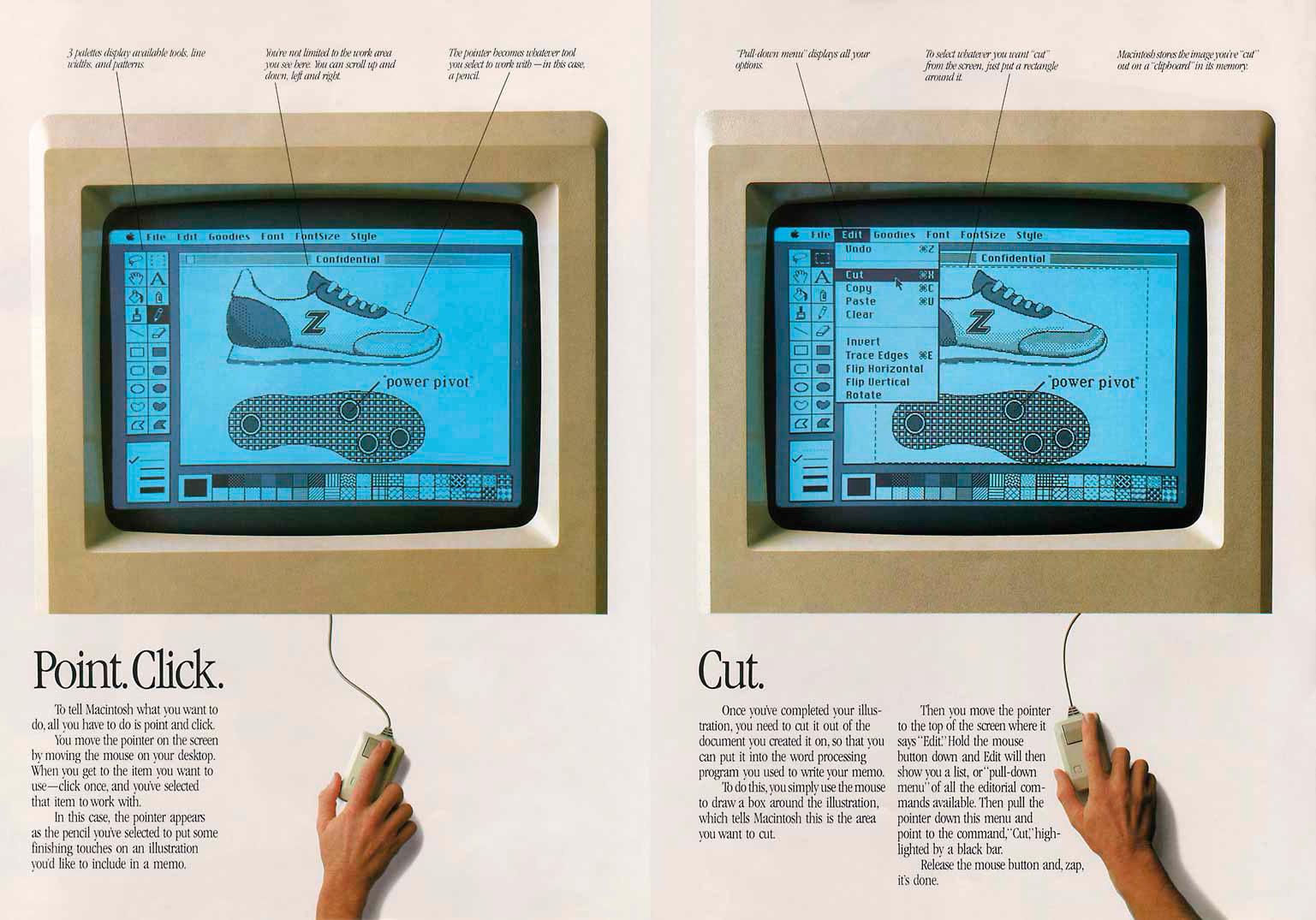 Foto de Presentación del Macintosh en Newsweek (4/11)