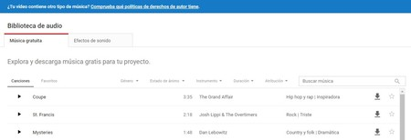 Biblioteca Youtube