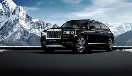 Por 37 millones de pesos puedes hacerte de un Rolls Royce Cullinan, limosina y blindado