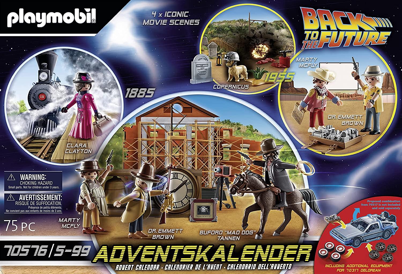 Calendario de adviento 2021 Playmobil - Volver al Futuro III