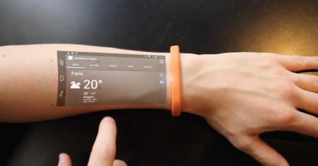 ¿Una pulsera quiere que tengamos el móvil en la piel?