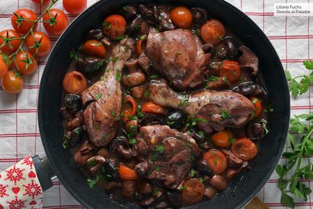 Foto 21 Pollo Marsala Con Setas Y Tomatitos