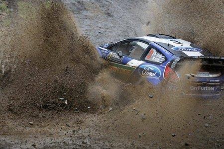Rally Acrópolis 2012: Jari-Matti Latvala primer líder de la prueba