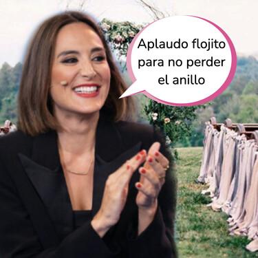 'El Hormiguero': Tamara Falcó explica el significado de su anillo y aclara los rumores de boda con Íñigo Onieva