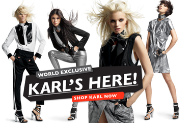 Lo de Karl Lagerfeld para Net-A-Porter ha sido un visto y no visto