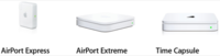 ¿Qué diferencia hay entre el Airport Express, el Airport Extreme y Time Capsule?