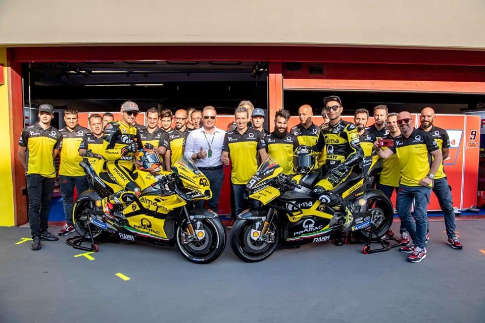 Foto de Alma Pramac Racing y Automobili Lamborghini para el Gran Premio de Italia 2018 (13/14)