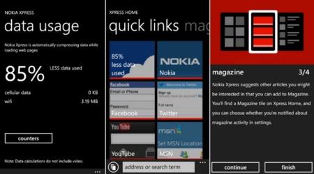 Nokia lanza Xpress para Lumia, compresión de datos móviles de hasta el 85%