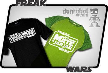 Don Robot, camisetas peliculeras