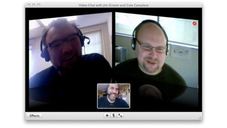 apple ichat videoconferencia