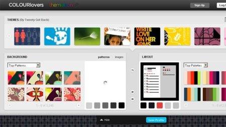 Personaliza tu página de Twitter con Themeleon
