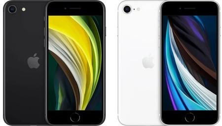 iPhone se en blanco y negro