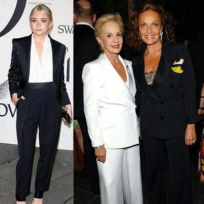 El look de la Semana 01/06 de marzo: el traje tipo esmoquín