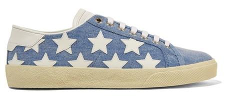 Saint Laurent Sneakers Stars Denim