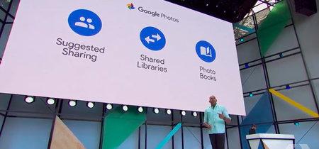 Google Fotos estrena tres novedades: sugerencias para compartir, librerías compartidas y álbumes impresos