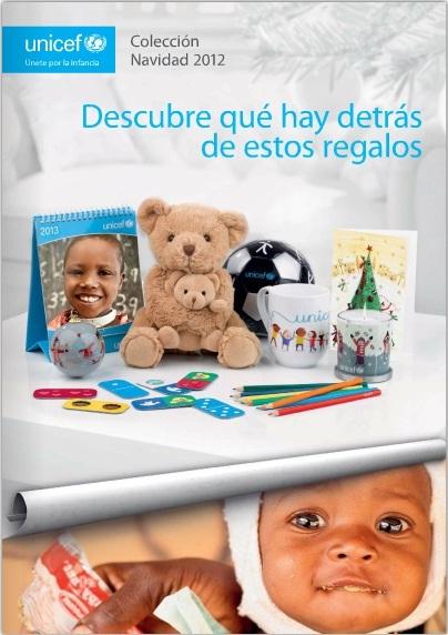 Regalos de Navidad 2012 con el sello solidario de UNICEF