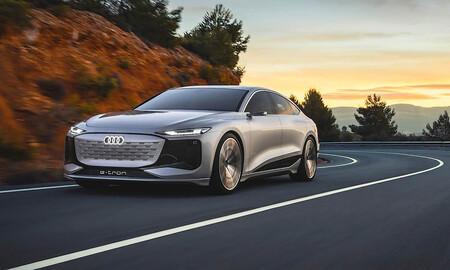 Filtrado el Audi A6 e-tron Concept, la nueva berlina eléctrica de Audi con chasis compartido con Porsche