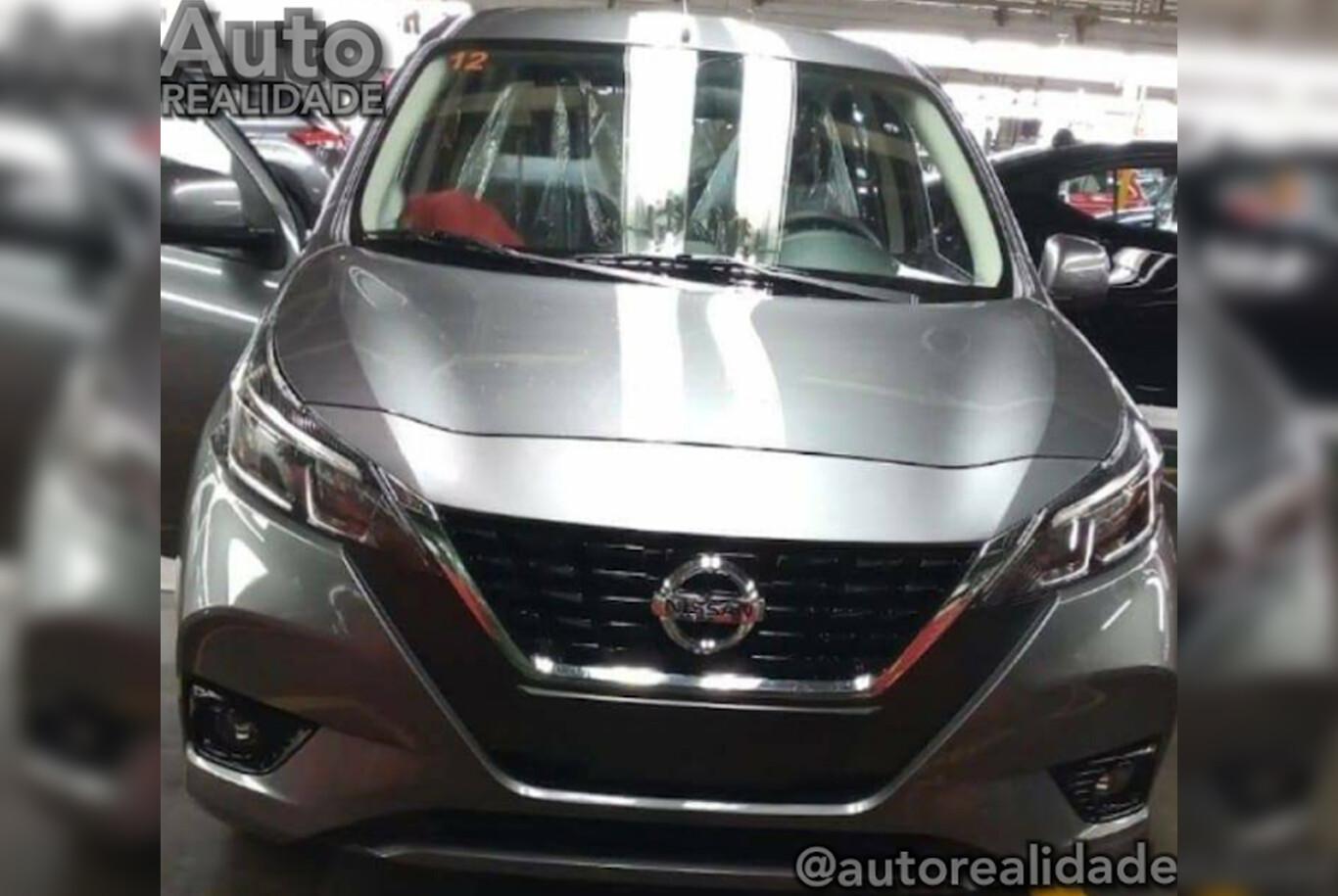 Nissan March 2021 Primera Foto Del Rediseno