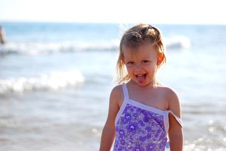 La foto de tu bebé: Sofía, feliz en la playa