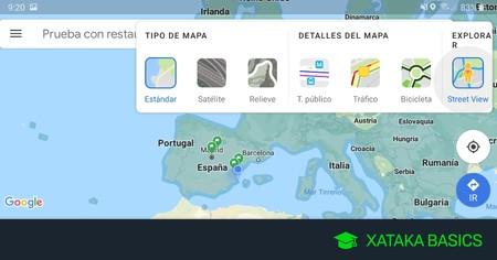 Cómo usar la capa de Street View en Google Maps para Android