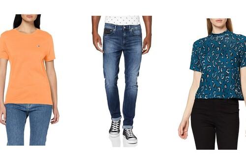 Chollos en tallas sueltas de camisetas, pantalones y chaquetas Tommy Hilfiger, Calvin Klein o Guess en Amazon