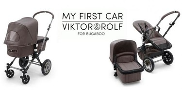 Viktor&Rolf y Bugaboo: para padres con estilo