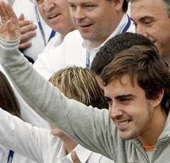 El McLaren MP4/22 de Fernando Alonso